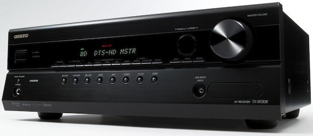 Onkyo TX-SR608 3D-Ready 5.1-channel  AV Receiver