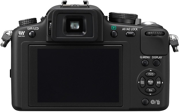 Panasonic DMC-G10 Micro Four Thirds Digital Camera - back