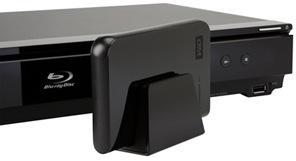 WD My Passport AV Portable Media Hard Drive with Sony Blu-ray player