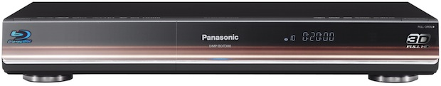 Panasonic Full HD 3D DMP-BDT300 Blu-ray Player