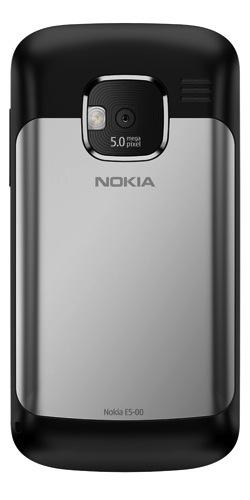 Nokia E5 Symbian Smartphone - Back