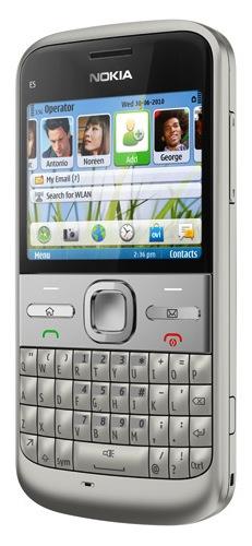 Nokia E5 Symbian Smartphone - Silver