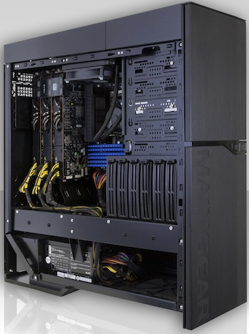 MAINGEAR Quantum SHIFT Workstation PC