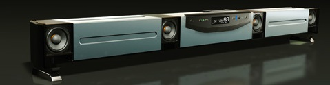Aperion Audio Signature SLIMstage30 Soundbar - No Grille