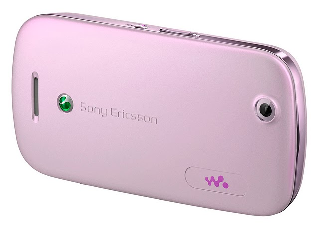 Sony Ericsson Zylo with Walkman Cell Phone - Pink