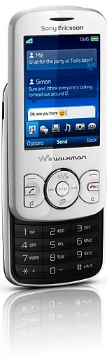 Sony Ericsson Spiro with Walkman Cell Phone - black