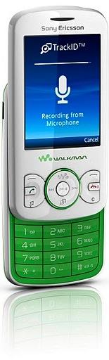 Sony Ericsson Spiro with Walkman Cell Phone - green