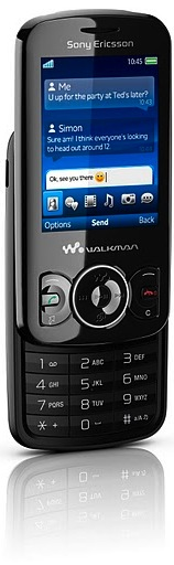 Sony Ericsson Spiro with Walkman Cell Phone - stealth