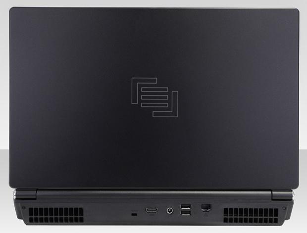 Maingear eX-L 15 Gaming Notebook - Back