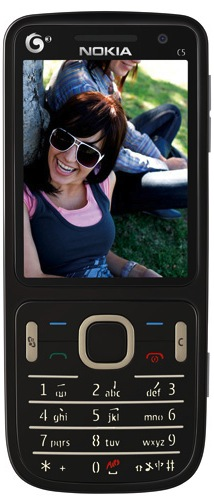Nokia C5 TD-SCDMA Cell Phone