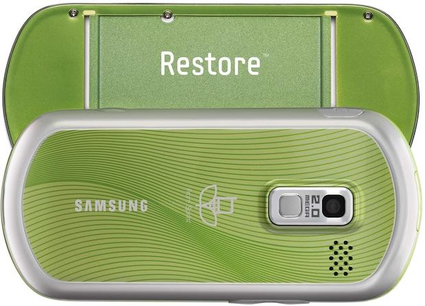 Samsung Restore SPH-M570 - Back