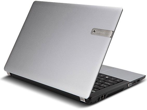Gateway NV59C09u Notebook - Back