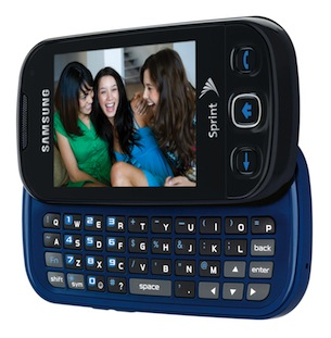 Samsung Seek SPH-M350 Cell Phone - Blue