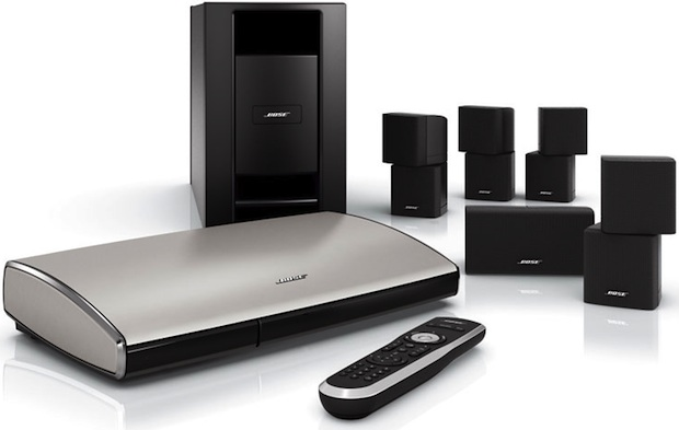 bose lifestyle v35 v25 and t20 home theater systems. Black Bedroom Furniture Sets. Home Design Ideas