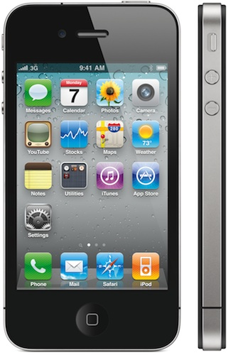 iPhone 4 profile