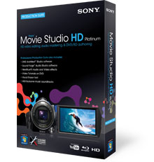 Sony Vegas Movie Studio HD Platinum 10 Software