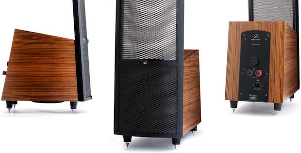 MartinLogan Ethos Electrostatic Loudspeakers Teak