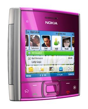 Nokia X5 Smartphone - Pink