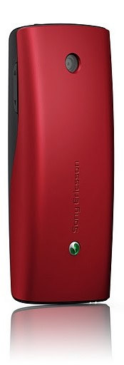 Sony Ericsson Cedar Cell Phone - Red Back