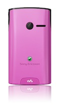 Sony Ericsson Yendo with Walkman - Pink
