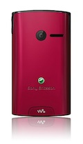 Sony Ericsson Yendo with Walkman - Red
