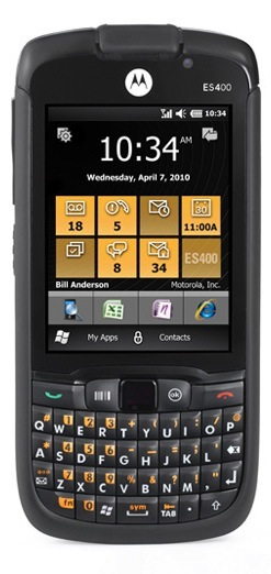 Motorola ES400 Enterprise Digital Assistant Smartphone - Front