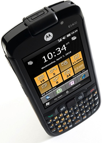 Motorola ES400 Enterprise Digital Assistant Smartphone - Top