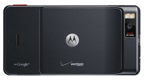 Motorola DROID X Smartphone - Back