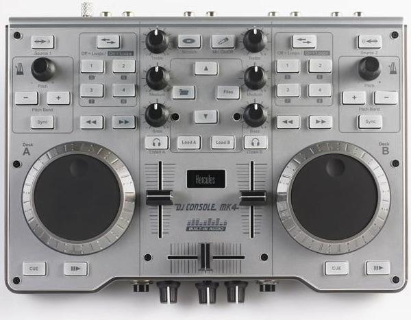 Hercules Mk4 DJ Mixing Console
