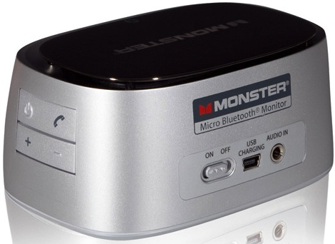 Monster iClarity HD Precision Micro Bluetooth Speaker - Back