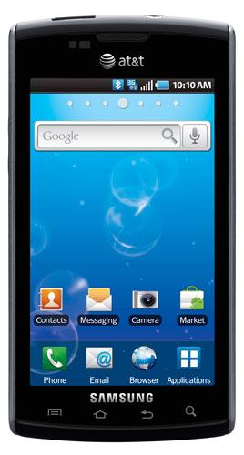Samsung Captivate Smartphone