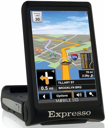 Expresso AG1 Portable Automobile GPS