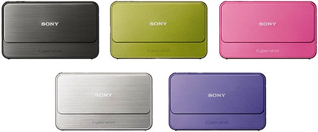 Sony DSC-T99 Cyber-shot Digital Camera - Colors