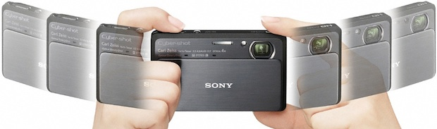 Sony DSC-TX9 Cyber-shot Digital Camera - Sweep