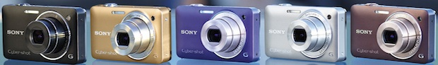 Sony DSC-WX5 Cyber-shot Digital Camera - Colors