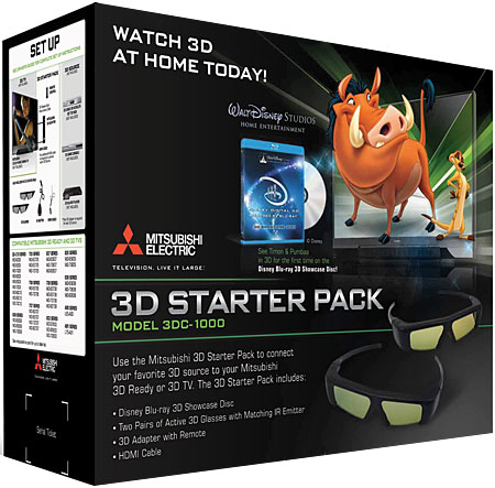 Mitsubishi 3DC-1000 3D Starter Pack