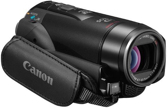 Canon VIXIA HF M32 Dual Flash Memory Camcorder - Grip