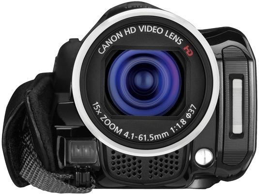 Canon VIXIA HF M32 Dual Flash Memory Camcorder - Front
