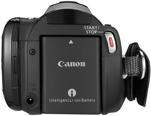 Canon VIXIA HF M32 Dual Flash Memory Camcorder - Back