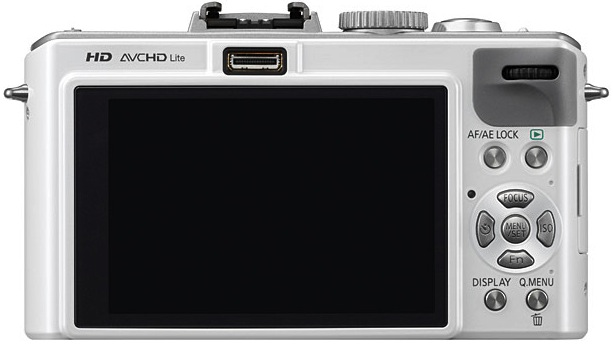 Panasonic DMC-LX5 Lumix Digital Camera - Back