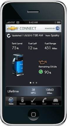 OnStar iPhone App