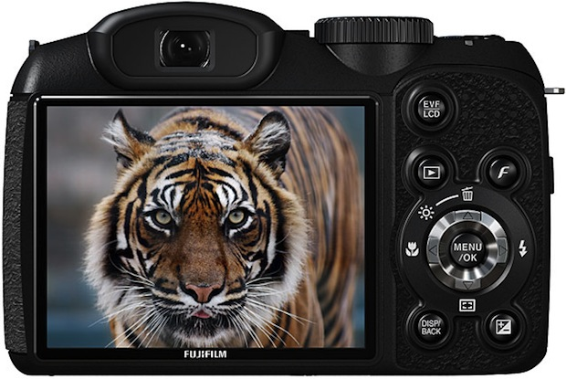 FujiFilm FinePix S2800HD Digital Camera - Back