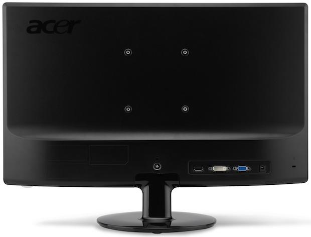 Acer S231HL LED LCD Monitor - Back
