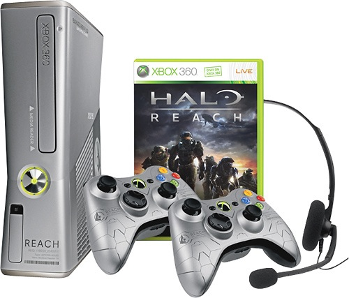 Microsoft Xbox 360 Limited Edition Halo: Reach 250GB Console and Game