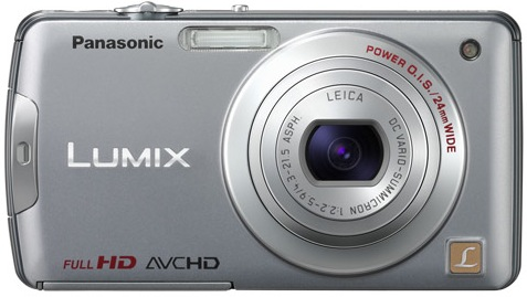 Panasonic DMC-FX700 Lumix Digital Camera - Silver