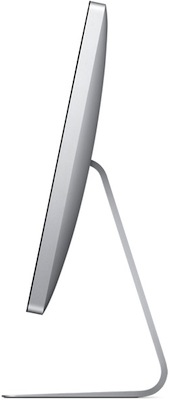 Apple 27-inch LED Cinema Display - Side