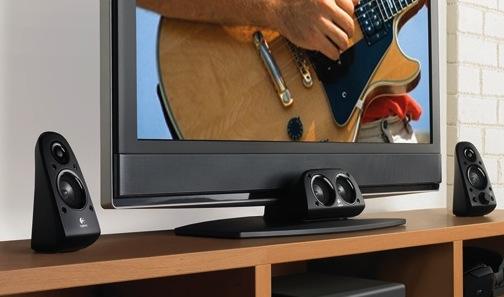 Logitech Z506 Surround Sound 5.1 Speaker System with TV