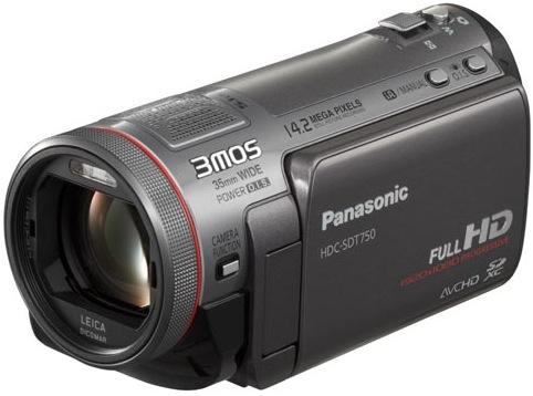 Panasonic HDC-SDT750 Camcorder