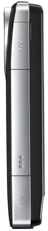 Panasonic HM-TA1H Pocket Camcorder - Side