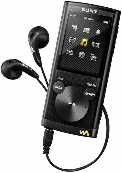 Sony NWZ-E450 Walkman MP3 Player - Black
